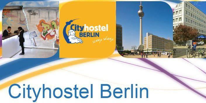 Page d'accueil du site internet duCityhostel de Berlin (DR)