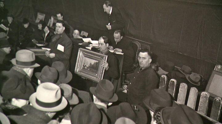 Les oeuvres d'art spoliées par les nazis (France 3 Grenoble)