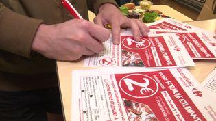 un supermarché toulousain propose des menus à deux euros pour les étudiants. (CAPTURE D'ÉCRAN FRANCE 3)