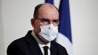 Le Premier ministre, Jean Castex, le 3 décembre 2020. (BENOIT TESSIER / AFP)