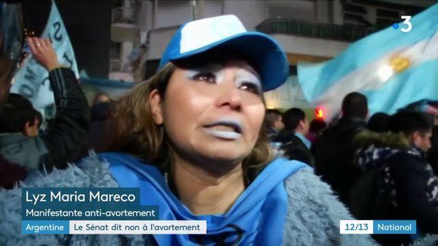 Argentine : le Sénat dit non à l'avortement