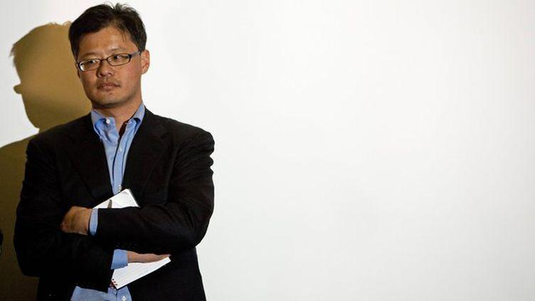 Jerry Yang, confondateur de Yahoo!, a démissionné de ses fonctions mardi 17 janvier 2012. ((PAUL J. RICHARDS / AFP))