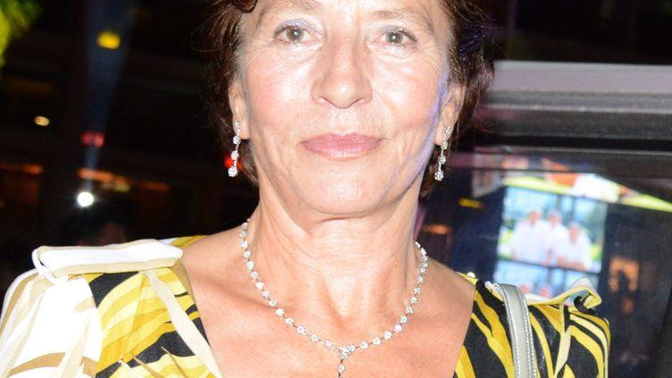 Jacqueline Veyrac, en septembre 2013, lors du 50e anniversaire de son Grand Hôtel à Cannes (Alpes-Martimes). (MAXPPP)