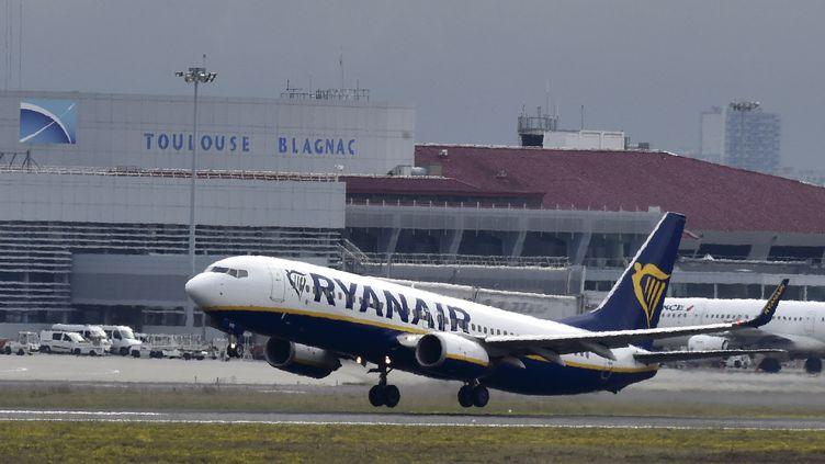 L'aéroport de Toulouse-Blagnac, le 19 octobre 2017. (PASCAL PAVANI / AFP)