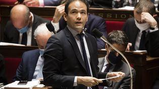 Cédric O le 22 septembre 2020 à l'Assemblée nationale. (VINCENT ISORE / MAXPPP)