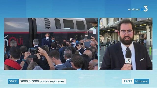 Emploi : des suppressions de postes gâchent l'anniversaire du TGV