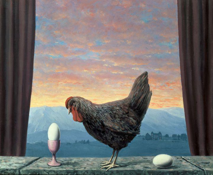 """René Magritte, """"Variante de la tristesse"""", 1957, Kerry Stokes Collection, Perth  (Kerry Stokes Collection, Perth / Photo : Acorn, Photo, Perth © Adagp, Paris 2016 © Photothèque R. Magritte / BI, Adagp, Paris, 2016)"""