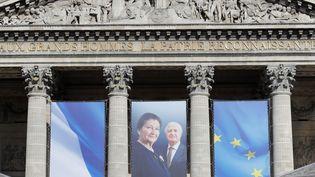 Simone Veil et son mari Antoine Veil vont entrer au Panthéon le 1er juillet 2018  (THOMAS SAMSON / AFP)