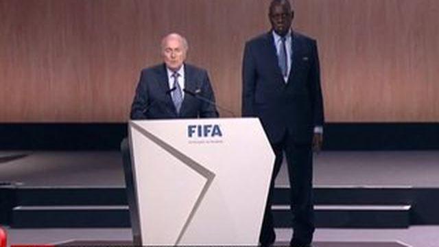 Sepp Blatter réelu à la tête de la FIFA