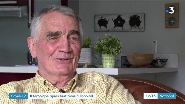 Covid-19 : après huit mois passés en réanimation, Daniel Birfet témoigne
