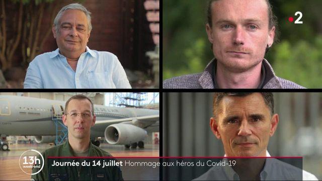 14 juillet : un hommage aux héros du Covid-19
