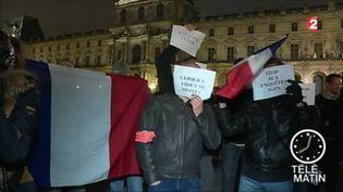Des policiers en colère (FRANCE 2)