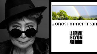 Biennale d'art contemporain de Lyon : l'artiste Yoko Ono invite les internautes à raconter leur rêve d'été  (Biennale d'art contemporain de Lyon)