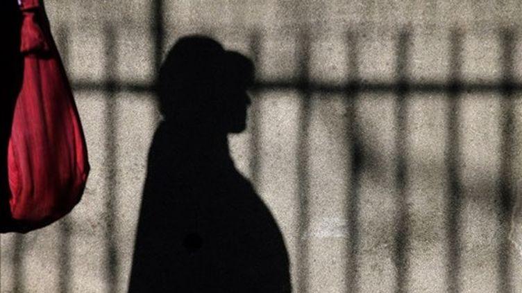 Une patiente à l'hôpital psychiatrique Sainte-Anne, à Paris (archives 2007). (AFP/JOEL SAGET)