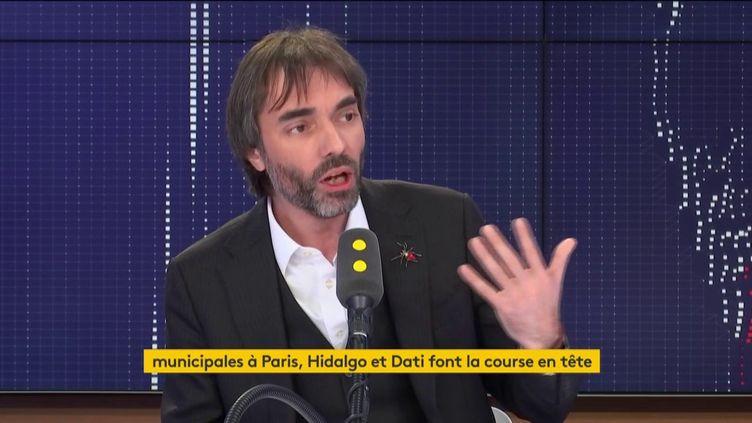 Cédric Villani, sur franceinfo, lundi 20 janvier. (FRANCEINFO / RADIOFRANCE)