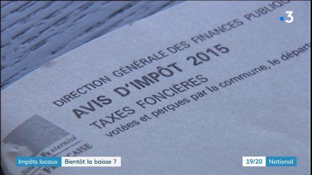 Fiscalité : bientôt une baisse des impôts locaux ?