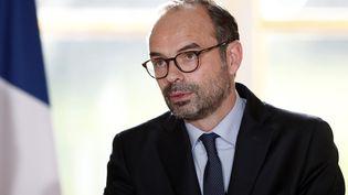 Le Premier ministre, Edouard Philippe, le 3 janvier 2018 à l'Elysée, à Paris. (BENOIT TESSIER / AFP)