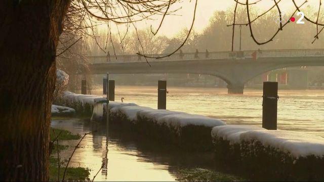 Seine-et-Marne : le verglas et le froid après les inondations
