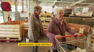 Les personnes âgées pourraient rester en confinement plus longtemps (FRANCEINFO)