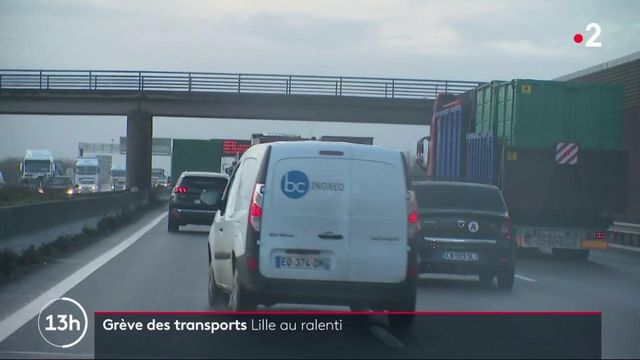 Grèves des transports : Lille tourne au ralenti