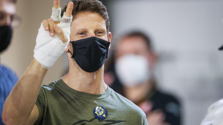 Romain Grosjean quitte la F1 sur un énorme crash et des brûlures aux mains (ANTONIN VINCENT / DPPI)