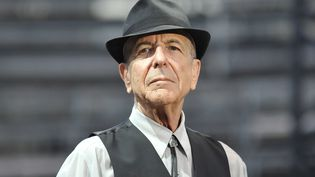 Leonard Cohen le 20 août 2009 à Nîmes, en France (YOAN VALAT / EPA / Newscom / MaxPPP)