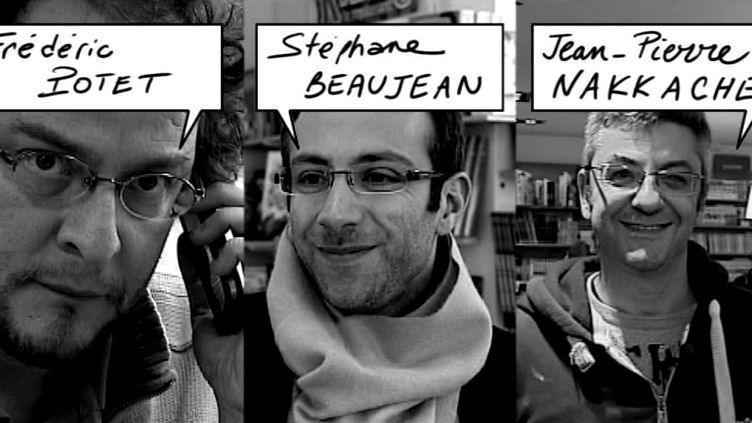 3 des membres du comité de sélection du 40e Festival d'Angoulême  (France3/culturebox)