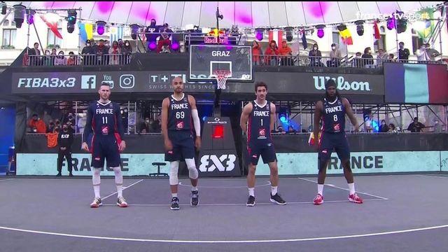 TQO Basket 3x3 (H) : les meilleurs moments de la demi-finale Pays-Bas vs France