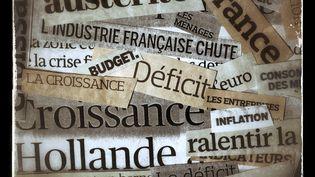 Le gouvernement français a présenté le 1er octobre 2014 un budget de l'Etat pour 2015 qui peine à faire refluer dette et déficits, malgré l'effort sur la dépense. (JOEL SAGET / AFP)