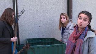 Immersion au sein du quotidien de Raphelle Hutin, jeune adolescente qui milite pour le climat. (FRANCE 3)