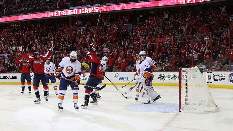 Les Capitals de Washington dominent les NY Islanders (ROB CARR / GETTY IMAGES NORTH AMERICA)