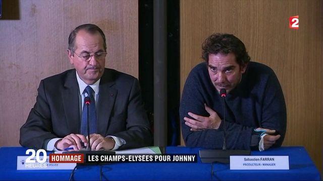 Johnny Hallyday : les Champs-Elysées pour un hommage populaire