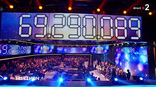 Téléthon: chute des dons en 2018 (Crédit photo : © Capture d'écran France 2)