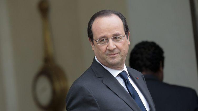 François Hollande à l'Elysée, à Paris, le 6 février 2014. (  MAXPPP)
