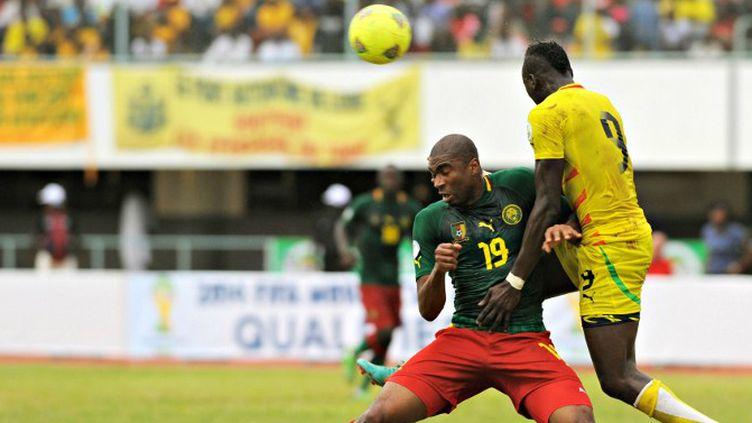 Raoul Cedric Loe (Cameroun) et Vincent Bossou (Togo).