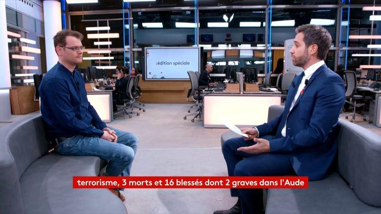 Antoine Jardin, chercheur au CNRS spécialiste du terrorisme (FRANCEINFO)