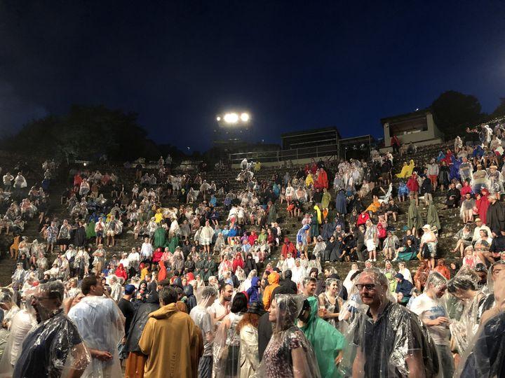 Le public de Fourvière (Lyon) le 6 juillet (Jean-François Convert)