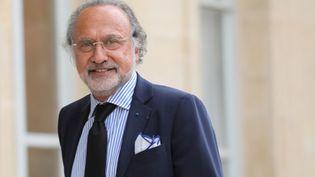Olivier Dassault, le 31 mai 2018, au palais de l'Elysée, à Paris. (LUDOVIC MARIN / AFP)