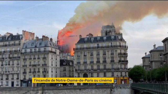Cinéma : un film sur l'incendie de Notre-Dame-de-Paris va voir le jour