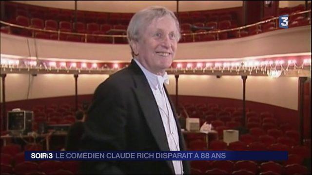 Cinéma : disparition de Claude Rich à 88 ans