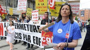 Marseille (Bouches-du-Rhône), défilé syndical du 1er mai2015 (CITIZENSIDE / FREDERIC SEGURAN / AFP)