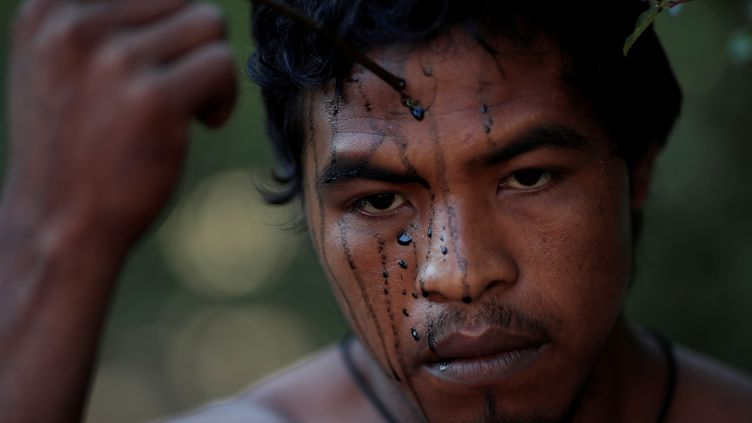"""Paulo Paulino Guajajara, qui appartenait au groupe des """"Gardiens de la forêt"""", a été assassiné, selon les autorités autochtones Guajajara,le 2 novembre 2019 au Brésil. (UESLEI MARCELINO / REUTERS)"""