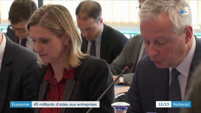 Coronavirus : 45 milliards d'aides aux entreprises françaises