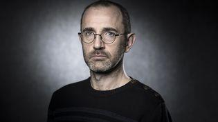 Le scénariste Wilfrid Lupano, au festival d'Angoulême, le 26 janvier 2018. (JOEL SAGET / AFP)