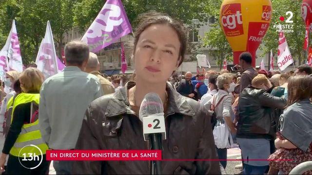 Paris : les soignants se mobilisent et demandent une réforme