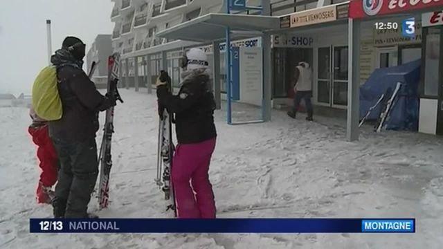 Pyrénées-Atlantiques : la neige est là