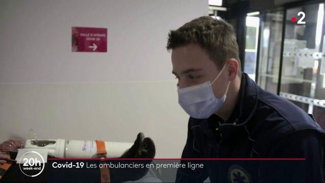 Coronavirus : les ambulanciers en première ligne