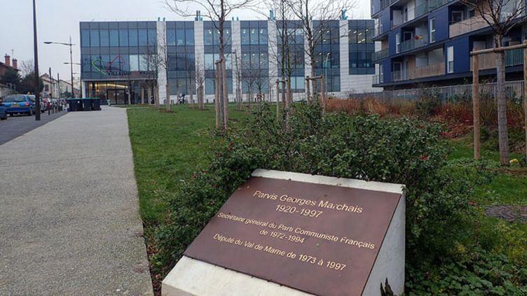 (Le parvis Georges-Marchais à Villejuif changera-t-il de nom ? © MaxPPP)