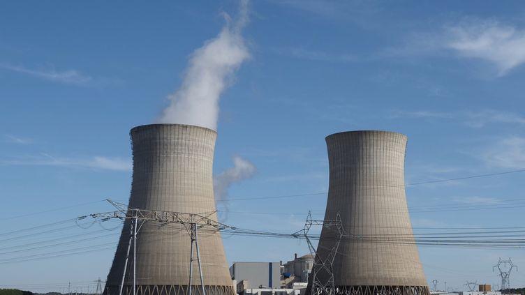 Le site nucléaire de Dampierre-en-Burly (Loiret), le 23 août 2019. (GUILLAUME SOUVANT / AFP)