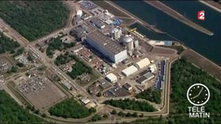 La centrale de Fessenheim est la plus vieille du parc nucléaire français. (FRANCE 2)